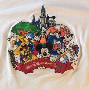 Vintage Disney Embroidered Y2K Celebration Tshirt
